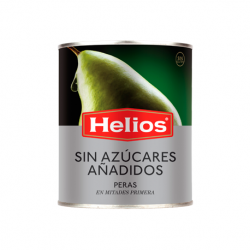 HELIOS Pear Halves without added Sugar Can with 840 net grams