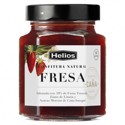 HELIOS Natural Strawberry Jam Jar with 330 net grams - Conservalia
