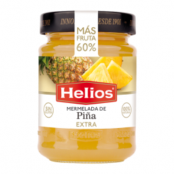 HELIOS Pineapple Jam Jar with 340 net grams - Conservalia