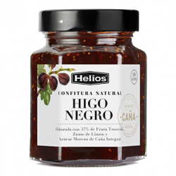 HELIOS Natural Black Fig Jam Jar with 330 net grams