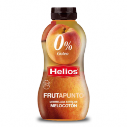 HELIOS FRUTAPUNTO Extra Peach Jam No Drip Soft Bottle with 350 net grams