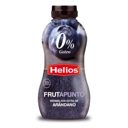 HELIOS FRUTAPUNTO Extra Blueberry Jam No Drip Soft Bottle with 350 net grams