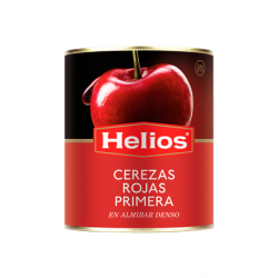 HELIOS Red Cherries in Light Syrup Can with 950 net grams
