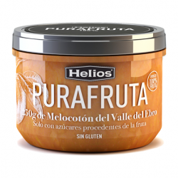 HELIOS Peach Purafruta Jar with 250 net grams