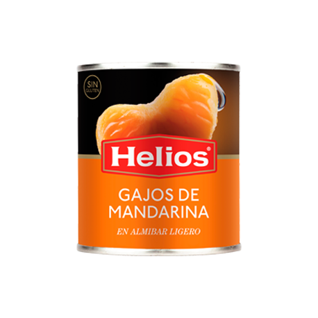 HELIOS Mandarin Orange Segments in Light Syrup Can with 312 net grams - Conservalia