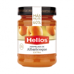 HELIOS Apricot Jam Tray with 8 Jars of 340 net grams