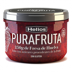 HELIOS Strawberry Purafruta Jar with 250 net grams