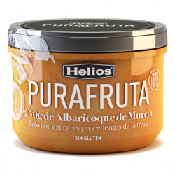 HELIOS Apricot Purafruta Jar with 250 net grams