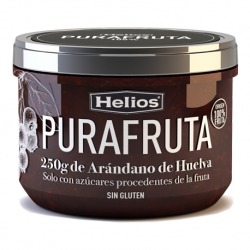 HELIOS Blueberry Purafruta Jar with 250 net grams