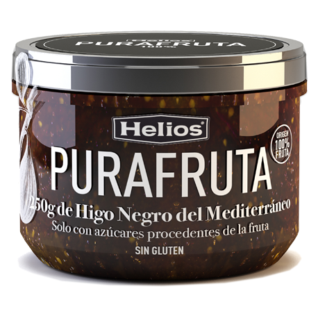 HELIOS Black Fig Purafruta Jar with 250 net grams - Conservalia