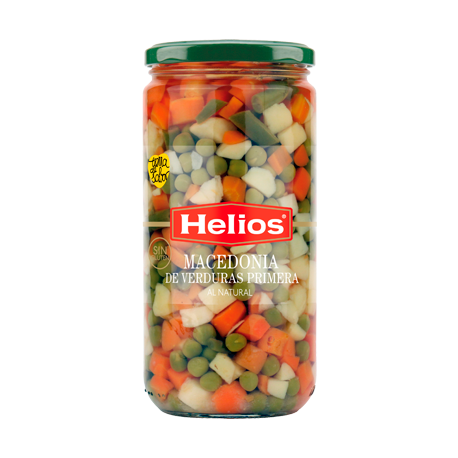 HELIOS Mixed Vegetables Jar with 660 net grams - Conservalia