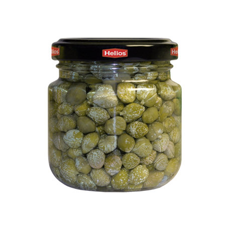 HELIOS Pickled Capers Jar with 145 net grams - Conservalia