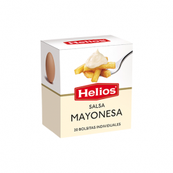 HELIOS Mayonnaise Box with 20 Sachets with 240 net grams (20 x 12 g)