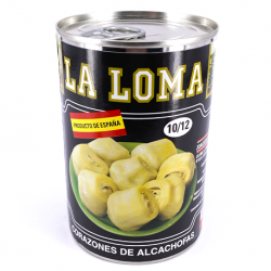 LA LOMA Artichoke Hearts in Brine 10/12 count Can with 390 net grams