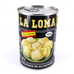 LA LOMA Artichoke Hearts in Brine 14/16 count Can with 390 net grams