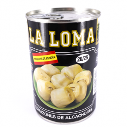 LA LOMA Artichoke Hearts in Brine 20/25 count Can with 390 net grams