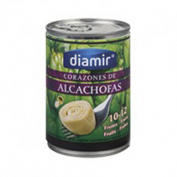 DIAMIR Artichoke Hearts in Brine 10/12 count Can with 390 net grams