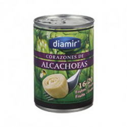 DIAMIR Artichoke Hearts in Brine 16/20 count Can with 390 net grams