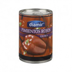 DIAMIR Sweet Red Peppers Can with 390 net grams