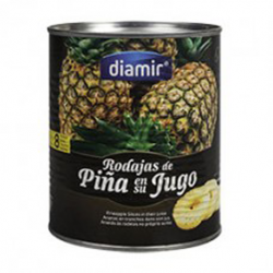 DIAMIR Sliced ​​Pineapple in  Juice Can with 825 net grams