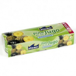 DIAMIR Pineapple Slices in Juice Pack-3 Cans with 681 net grams (3 x 227 g)