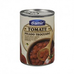 DIAMIR Chopped Tomatoes Can with 390 net grams