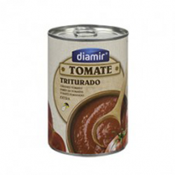 DIAMIR Crushed Tomatoes Can with 390 net grams