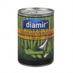 ALSUR Fine Green Beans Can with 390 net grams