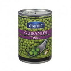 DIAMIR Natural Peas Can with 400 net grams
