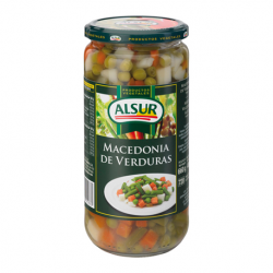 ALSUR Mixed Vegetables Jar with 660 net grams