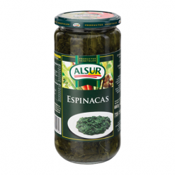 ALSUR Spinach Jar with 660 net grams