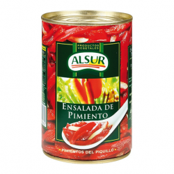 ALSUR Pepper Salad Can with 410 net grams