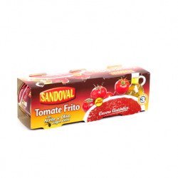 SANDOVAL Fried Tomato Pack-3 Cans with 660 net grams (3 x 220 g)