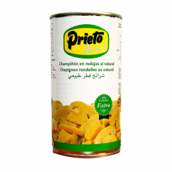 PRIETO Sliced Mushroom 1/2 Can with 350 net grams