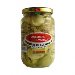 ALMORADÍ Artichoke Hearts in Brine 20/25 count Can with 350 net grams