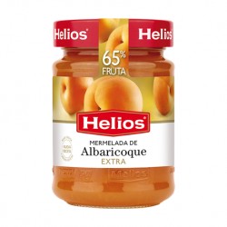 HELIOS Apricot Jam Jar with 340 net grams - Conservalia