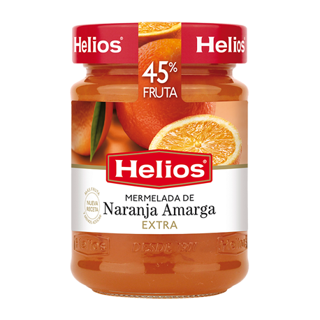 HELIOS Apple Jam Jar with 340 net grams - Conservalia
