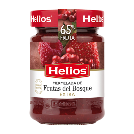 HELIOS Forest Fruits Jam Jar with 340 net grams - Conservalia