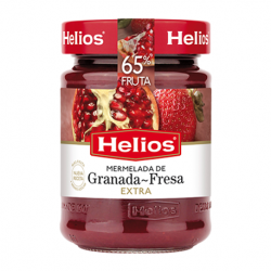 HELIOS Pomegranate-Strawberry Jam Jar with 340 net grams