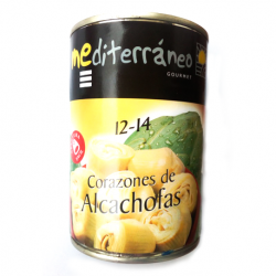MEDITERRANEO Artichoke Hearts in Brine 12/14 count Can with 390 net grams