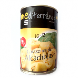 MEDITERRANEO Artichoke Hearts in Brine 10/12 count Can with 390 net grams