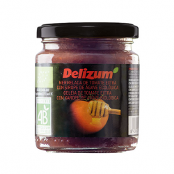 DELIZUM Organic Tomato Jam with Agave Syrup Jar with 270 net grams