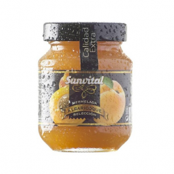 SUNVITAL Apricot Jam Jar with 340 net grams