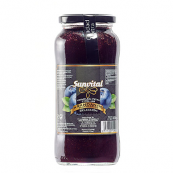 SUNVITAL Blueberries Jam Jar with 630 net grams