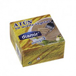 DIAMIR Tuna in Vegetable Oil Can with 80 net grams