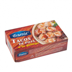 DIAMIR Pieces of Octopus in Galician Style Can with 266 net grams