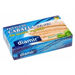 DIAMIR Fillets of Shouthern Mackerel in Vegetable Oil Can with 90 net grams