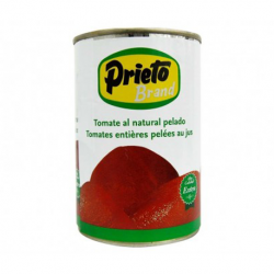 PRIETO Peeled Whole Tomato Can with 390 net grams