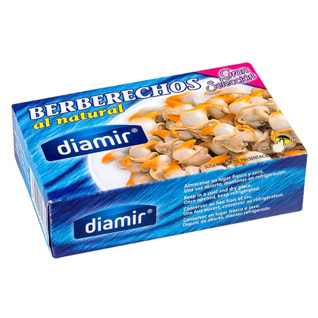 DIAMIR Natural Cockles Can with 102 net grams