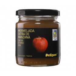DELIZUM Organic Apple Jam Jar with 270 net grams